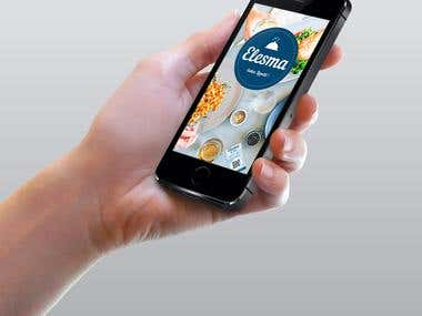 "App Mockup ""Elesma"""