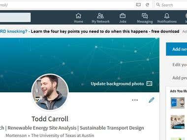 Professional LinkedIn Profile