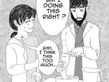 Manga Illustration