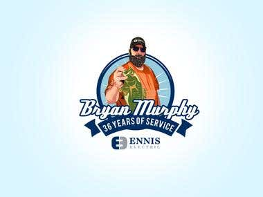 Bryan Murphy Logo Design