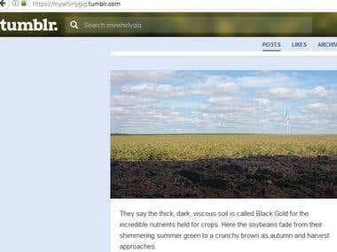 Photo-based Blog Example