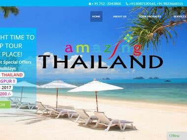 Gagan Holidays Package Website (www.gaganholidays.com)