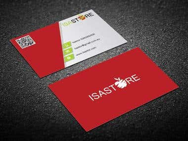 IsaStore Business card