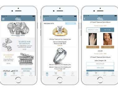 Jewelry Exchange Mobile App