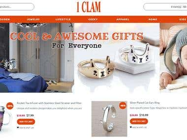 Adding Products to 1Clam.com