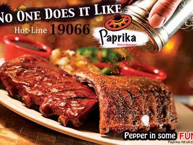 Paprika billboard