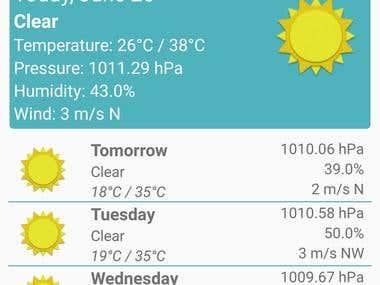 Weatherpad