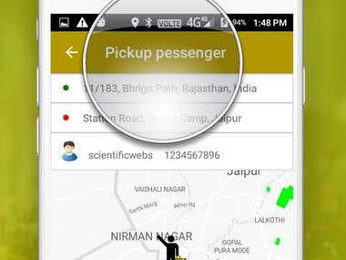 Taxi Mobile Application Like Ola or Uber
