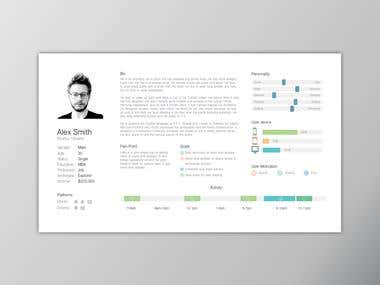 The 1st step of UX process. Creating personas.