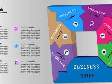 3D Business Info-graphics