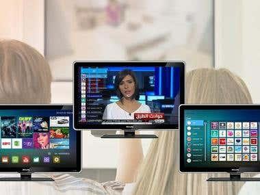 IPTV Andriod App for TV Box