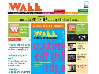 The Wall Art Magazine