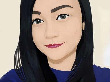 Vector Painting of me