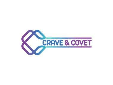Crave and Covet logo