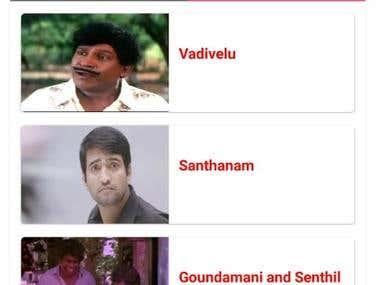 Android App Development - Tamil Trending Memes App