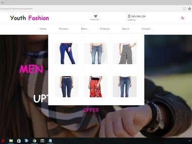 internet shop FASHION