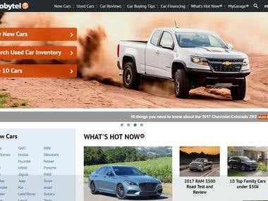Car Sales site