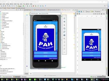 PAH(Pups and Handlers for android)