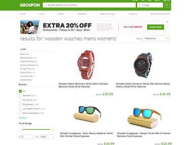 Adding Products to Groupon