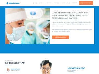 Health and Medical Website