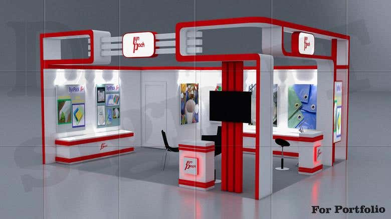 Exhibition Stall Materials : D exhibition stall synpack freelancer