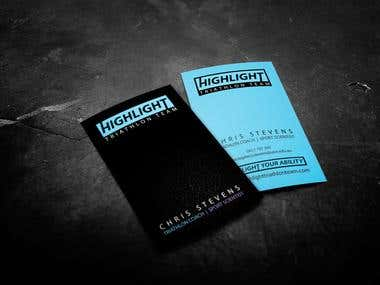 Business Card - Contest won at Freelancer