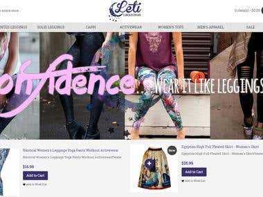 Adding Products to Letileggings.com
