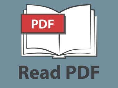 Logo Read PDF