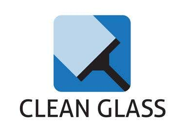 Logo Clean Glass