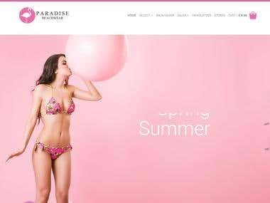 Magento Ecommerce | paradise-beachwear.com