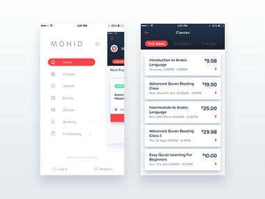Mohid iOS Application