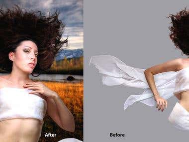 Photoshop Advanced Extraction