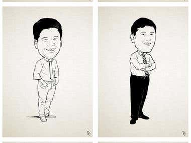 caricatures of teachers