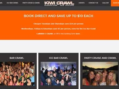 website for Bar crawl