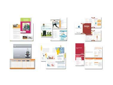 Corporate image and pagination