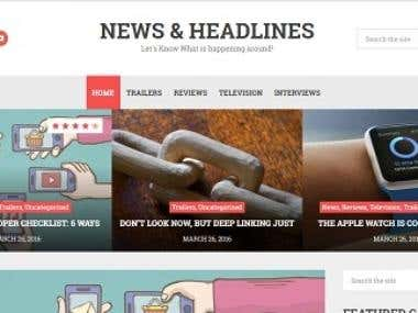 NEWS & HEADLINES Website :Videos ,NEWS, Headlines, etc