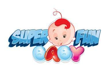 Super Fun Baby Logo