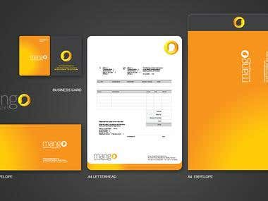 Logo + Brochure + Envelope + Business card