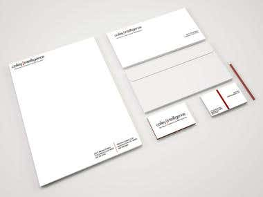 Company logo and stationery design