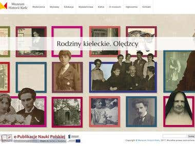 Website of Museum History of Kielce