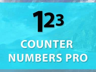 Counter Numbers Pro Wordpress Plugin