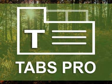 Tabs Pro Wordpress Plugin