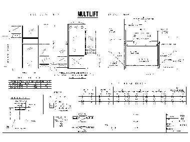 Multi lift Structural design