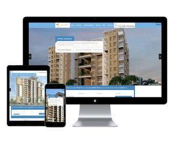 Goldenyards Real estate Website