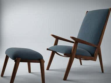 Furniture Modelling & Rendering