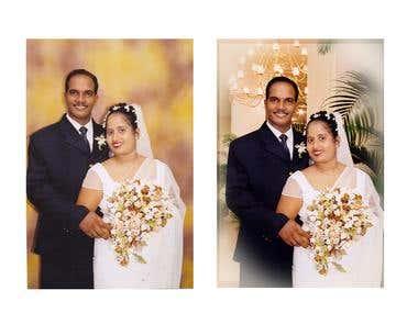 wedding story album