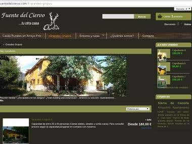 Web de reservas (online booking website)