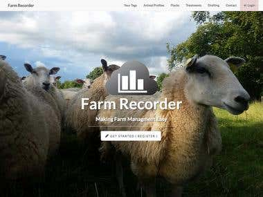 Farm Recorder