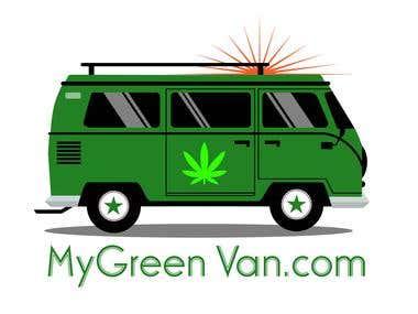 MY GREEN VAN DESIGN.....