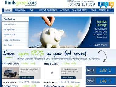 Car Showroom Website